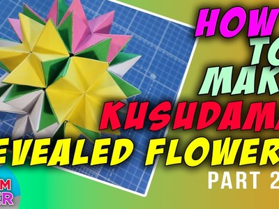 Fold how to make revealed flower part 2 how to make how to make revealed flower part 2 mightylinksfo