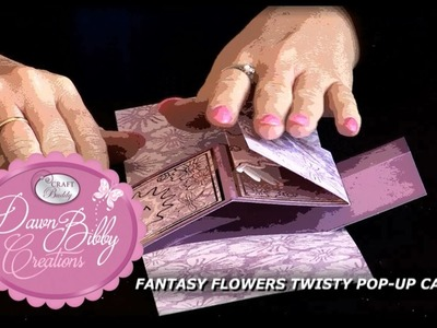 How to Make Twisty Pop up Cards