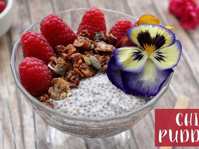 How to Make VANILLA CHIA PUDDING | Healthy Vegan | Veglife Channel