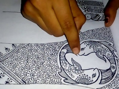 HOW TO MAKE YOUR OWN MEHNDI BOOK.