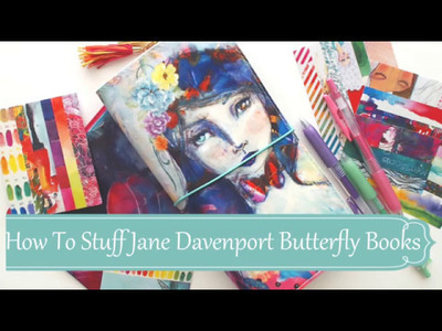 How To Stuff Your Jane Davenport Butterfly Books
