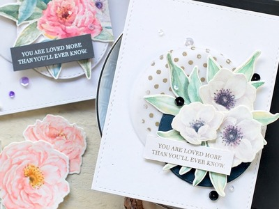 How To: Watercolor Card ft. MODERN ANEMONES Stamp Set