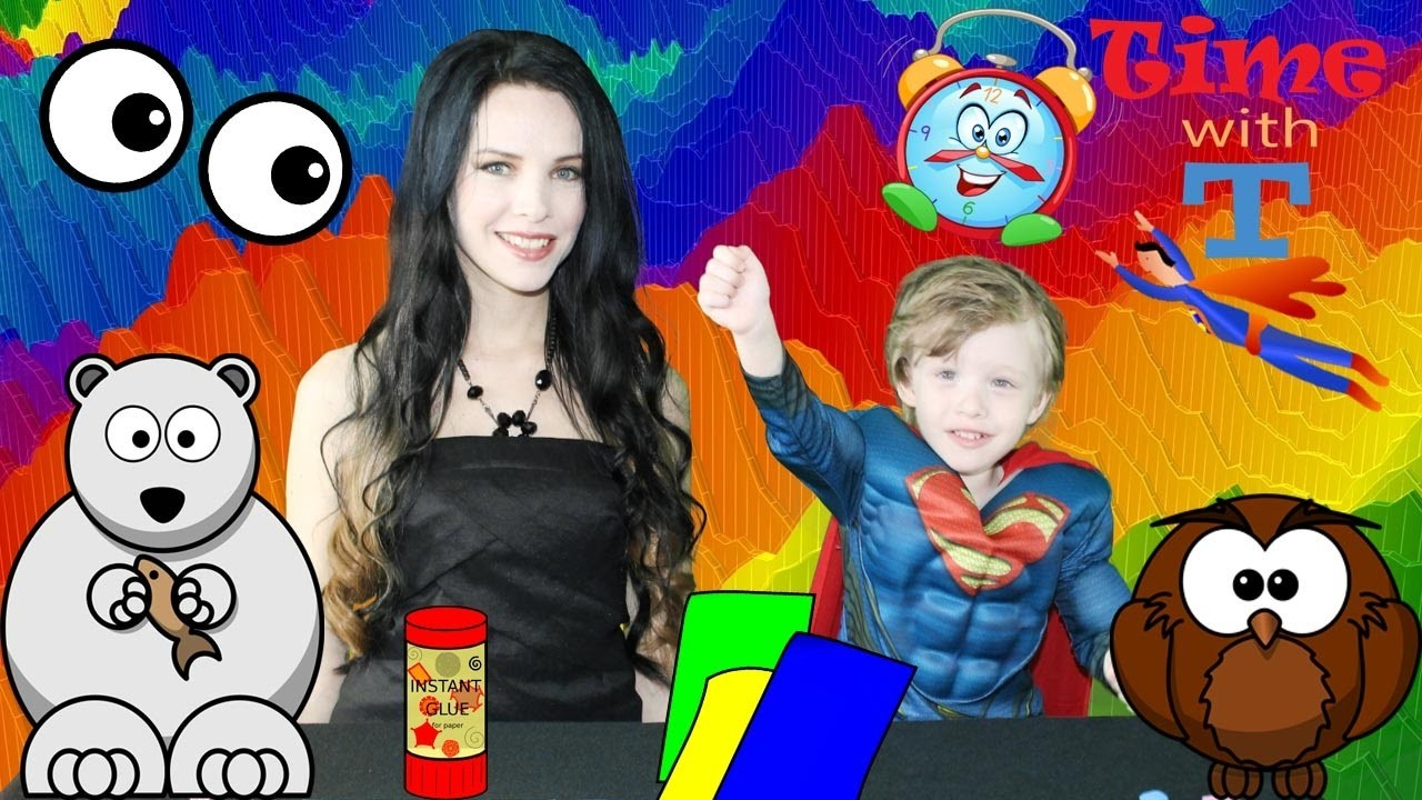 Kids SUPERHERO Superman Video Educational Crafts EXTREME FUN How to make Bookmarks