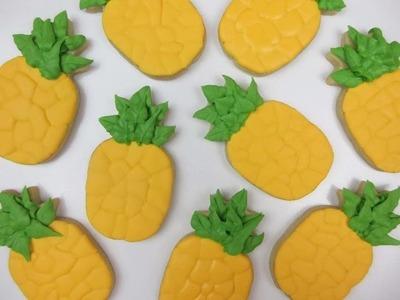 Learn How To Make PINEAPPLE Cookies!