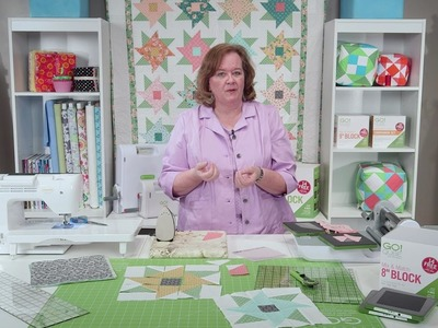 Learn how to Make the New Twirling Petals Quilt!