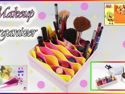 Makeup Organizer Compilation   How To Make Easy Gift Boxes