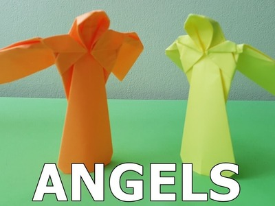 Origami Angels (How to make)