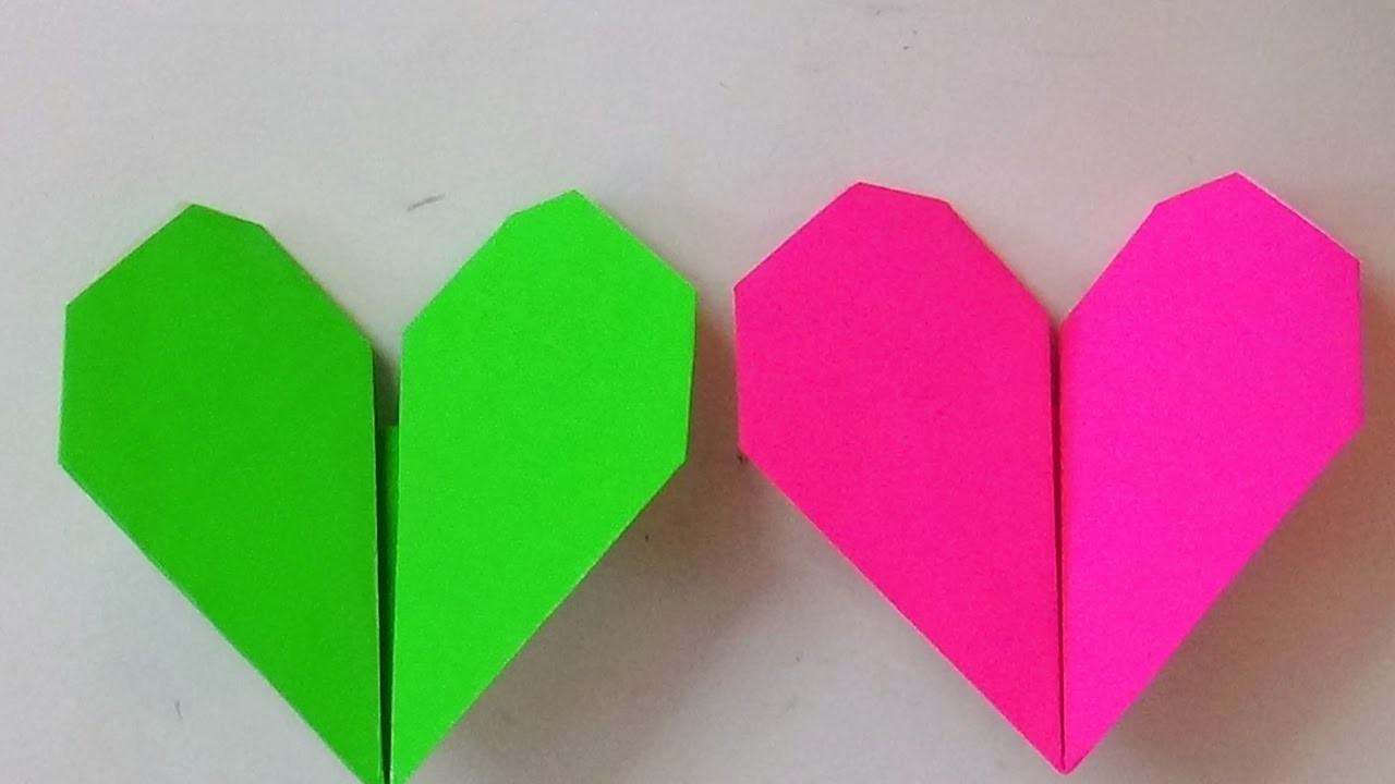 Origami Origami Art How To Make An Origami Beating Heart Origami