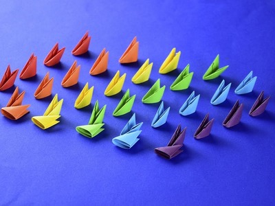 SECRET from the Arthur 3D Origami channel How to make COMFORTABLE pieces for assembling models