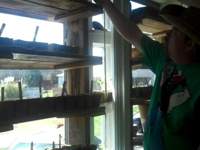 5 on the Farm: DIY  Cheap Window Shelves