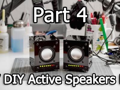 5V Active Speakers DIY Kit - Part 4.4 - Final assembly