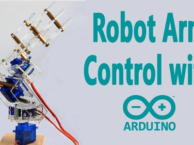 Arduino Project - Robot Arm Control with a Potentiometer