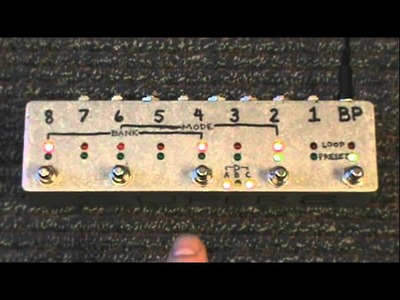 Build Your Own Clone BYOC super8 programmable bypass looper