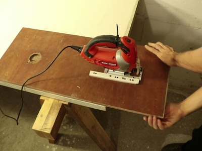 Building a Jigsaw Table in Under 60 Seconds!