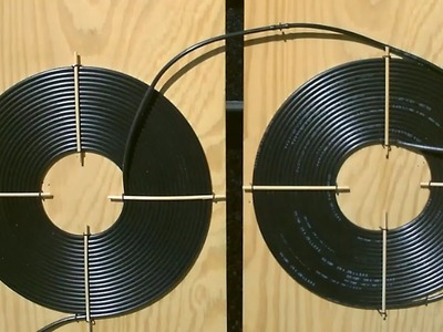 "DIY Solar Water Heater! - The ""Dual Spiral"" black poly Solar Water Heater!  Easy DIY (modular.chain)"