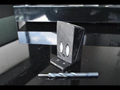 DIY very simple pockethole jig and homemade drill