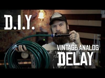 DIY Vintage Analog Delay (HoboRec Bull Sessions #14)