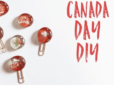 Dollar Tree DIY | Canada Day DIY| DIY Planner Clips