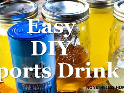 Easy DIY Sports Drink or Hydration Juice