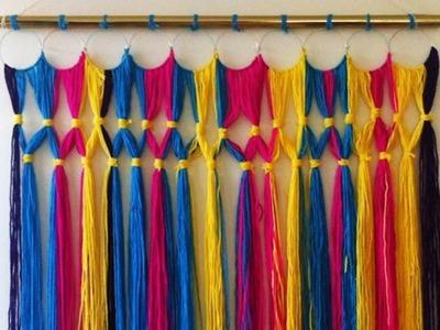 Faux Macrame backdrop, decorative wall hanging ,Wedding decor