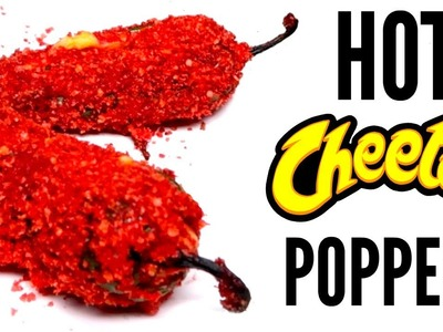 FLAMIN' HOT CHEETOS JALAPENO POPPER DIY   How To
