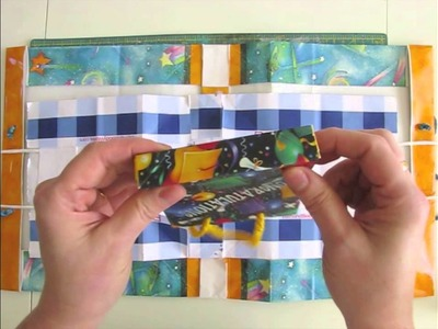 Gift Bag Book Cover Tutorial
