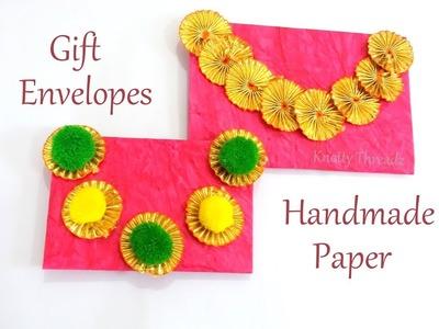 Handmade Paper Gift Envelopes | DIY | Gift Envelope | Children Art & Craft | Best Out Of Waste