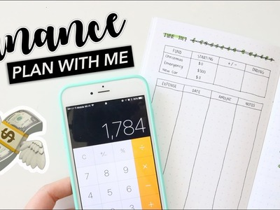 How I Budget in My Bullet Journal. Budgeting Plan With Me - June 2017!