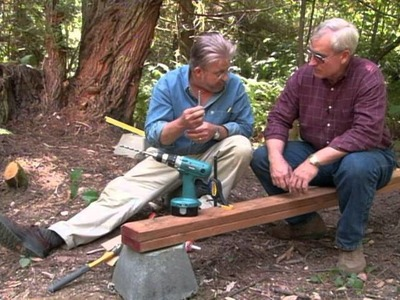 How to Build a Wooden Foot Bridge