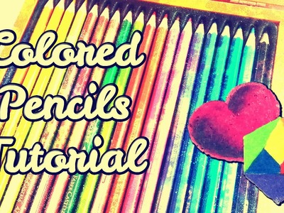 How to color with colored pencils   Drawing tutorial for beginners