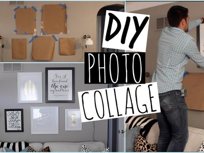 How To Create A Photo Collage On Your Wall