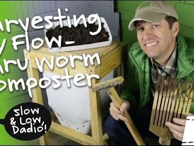 How To Harvest A Flow Through Worm Composter