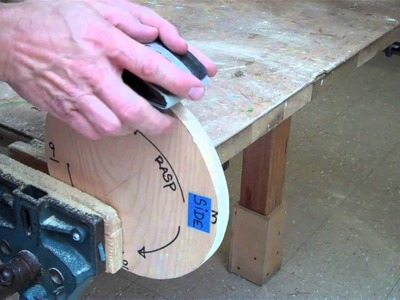 How To Make a Circle Out of Wood