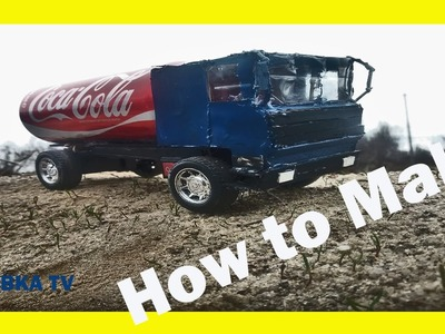 How to make a Coca-Cola truck with a DC motor
