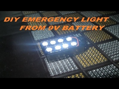 HOW TO MAKE A EMERGENCY LIGHT