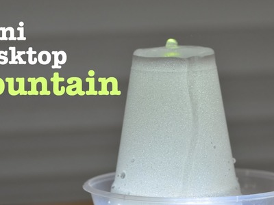How to make a Mini FOUNTAIN - Very Easy
