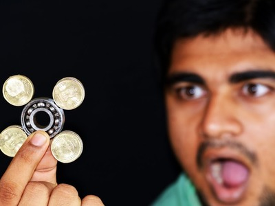 HOW TO MAKE A SIMPLE COIN FIDGET SPINNER