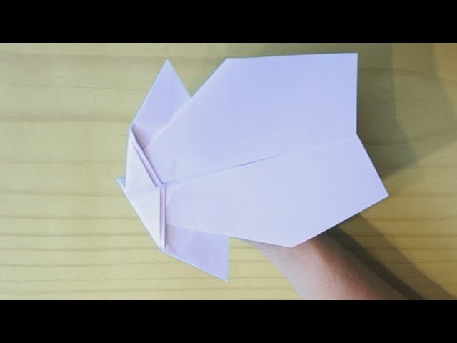 how to make the best stunt paper airplane