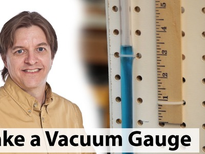 How to make a vacuum (or pressure) gauge