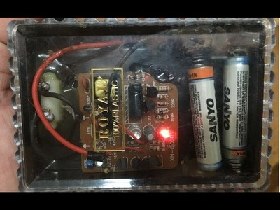 How to make (DIY) Battery Charger for AAA batteries 2017 - Life hack for AA batteries