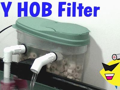 How To Make: DIY Hang On Back Filter (HOB) Aquarium Filter