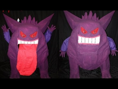 How to Make: Giant Gengar Puppet