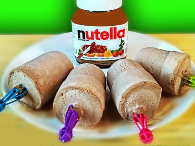 HOW TO MAKE ICE CREAM FROM Nutella