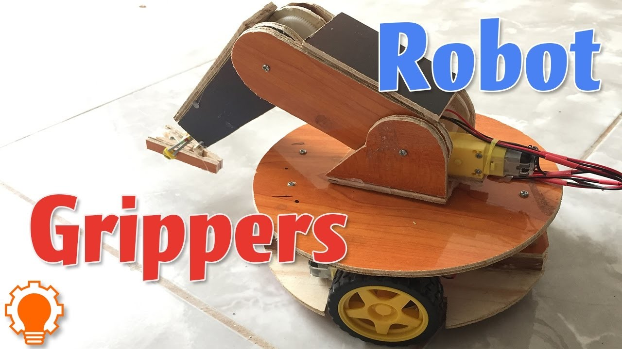 How to make Robotic Grippers (Crane) simply?