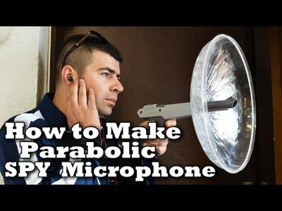 How To Make Spy Microphone!