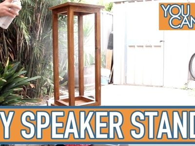 How To Make Timber Speaker Stands, Strong and Sturdy