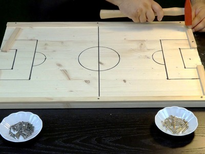 How to make your own Wooden Soccer Board Game