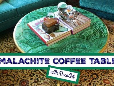 HOW TO: Malachite Table