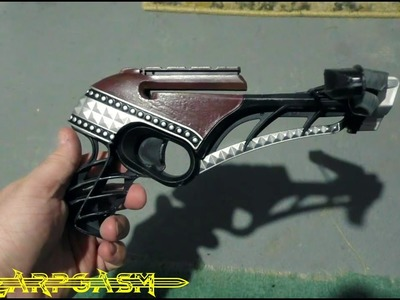 How to Mod and Paint a Nerf Diamondista Crossbow - Larp Style