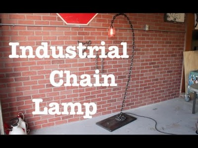 Industrial chain lamp from start to finish
